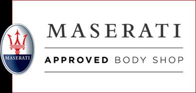 Maserati body shop